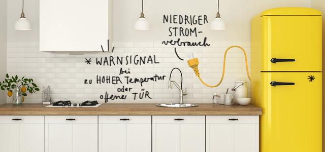 Die energieeffizientesten Kühl- und Gefriergeräte