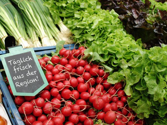 Gegen Lebensmittelverschwendung: Saisonal und regional einkaufen