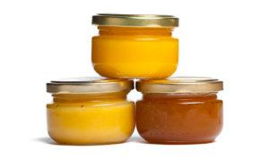 Honig hat viele Kalorien