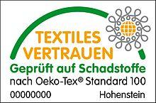 Textil-Siegel: Öko-Tex Standard 100