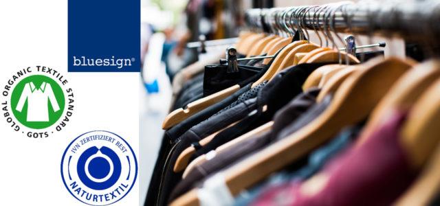 Siegel für Kleidung ohne Gift