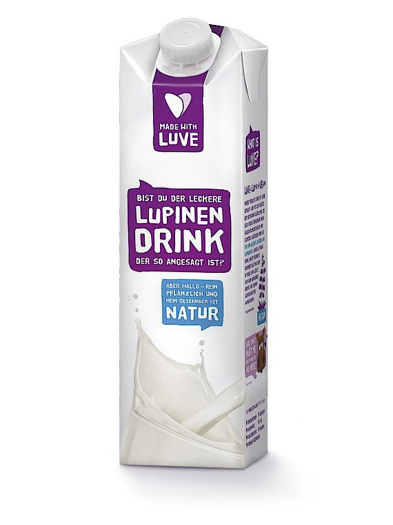 Lupinenmilch Lupinendrink Made With Luve