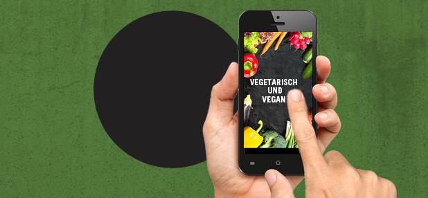 Vegane Smartphone-Apps