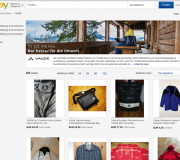 eBay und Vaude starten Gebraucht-Shop (Foto: Screenshot Vaude-Second-Use-Shop)