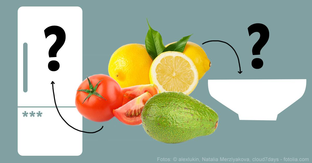 Kühlschrank Im Auto Lagern : Lebensmittel die du nicht im kühlschrank lagern solltest