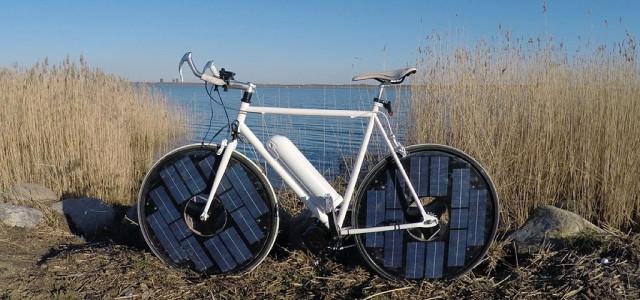 """""""Solarbike"""": Dieses E-Bike lädt seinen Aku selbst auf"""