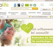 Nachhaltiger Shop: www.memolife.de