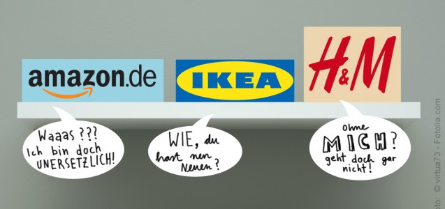 Alternativen zum Amazon, H&M, Ikea