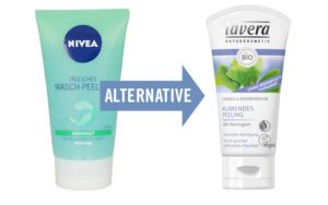 Mikroplastik in Kosmetik und Alternativen: Peeling