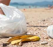 Mikroplastik Müll im Meer
