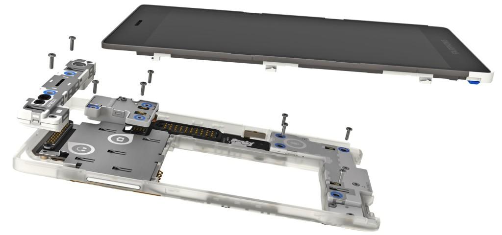 Anders als das iPhone kannman das Fairphone 2 selber reparieren und inzwischen auch gebraucht kaufen