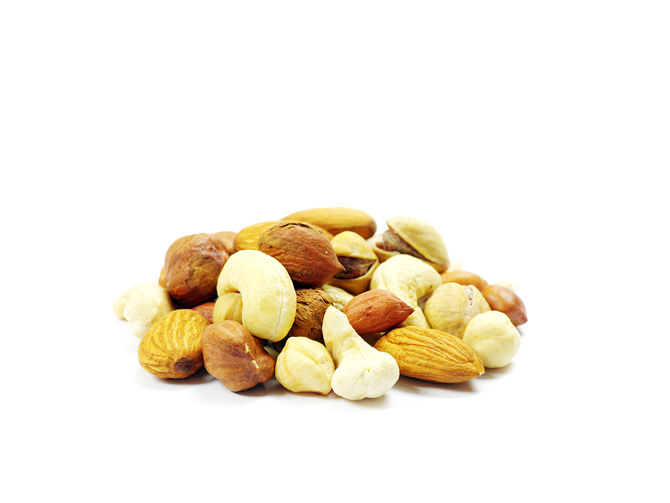 Nüsse pflanzliche Eiweiße