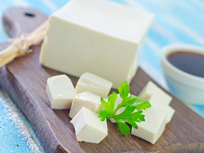 Tofu als Fleischersatz