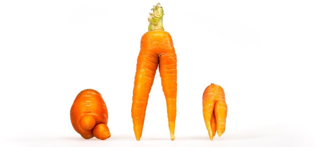 Fallen durchs Raster: Karotten, die anders sind