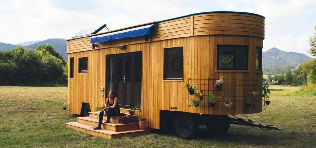 der wohnwagon das energieautarke eigenheim f r. Black Bedroom Furniture Sets. Home Design Ideas