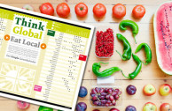 Der Utopia Saisonkalender: Think Global, Eat Local!