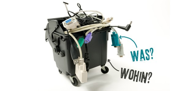 Elektroschrott entsorgen
