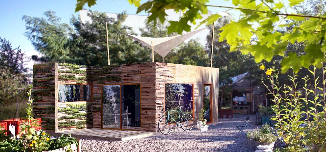 Das nest das tiny house zum selberbauen for Minihaus anbieter