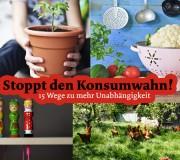 Stoppt den Konsumwahn