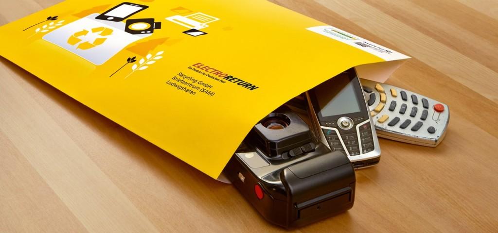 Electroreturn: Elektroschrott einfach per Post entsorgen