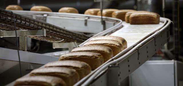 Brot vom Fließband