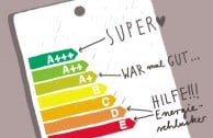 Was bedeuten eigentlich die Energieeffizienzklassen?