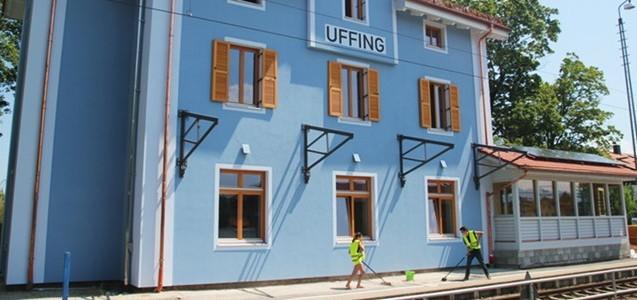 Plus-Energie-Bahnhof Uffing