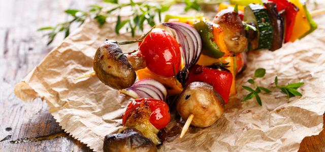 Vegetarisch Grillen –ziemlich lecker