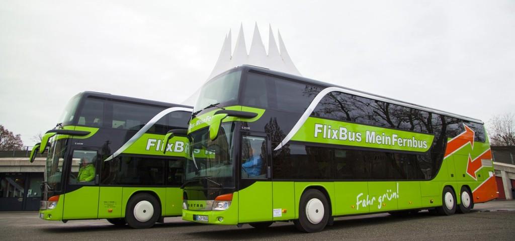 Fernbus Flixbus Fernbuslinien