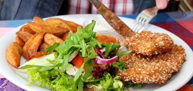 Fleischersatzprodukte Ratgeber: So lecker sind vegetarische und vegane Schnitzel