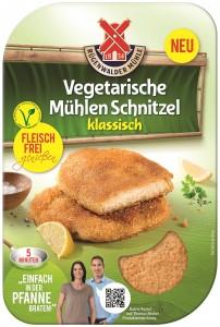 Veggie-Schnitzel sind erfolgreiche Trend-Produkte