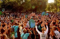 Silent Climate Parade: Tanzen für den Klimawandel