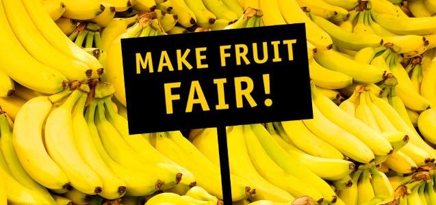 Für faire Früchte