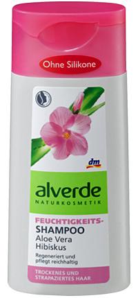 Shampoo ohne Silikone: Alverde