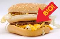 McDonald's Bio-Burger: nicht ganz unser Geschmack