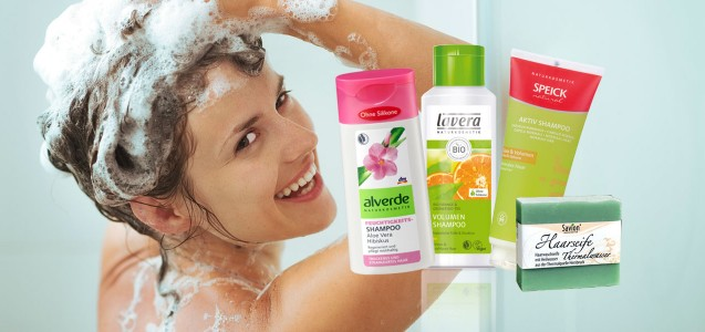 Bio-Shampoo ohne Silikone