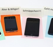 Gebrauchtes iPhone: günstiger!