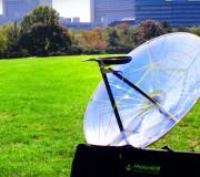 PhotonGrill: aufblasbarer Solar-Grill