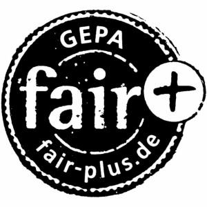 Fairtrade-Kaffee: Auch erkennbar am Gepa fair+ Zeichen