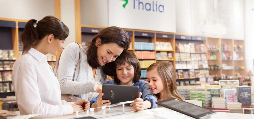 Tolino ist die deutsche Antwort auf Amazon Kindle und wird von Weltbild, Thalia, Hugendubel und anderen unterstützt.