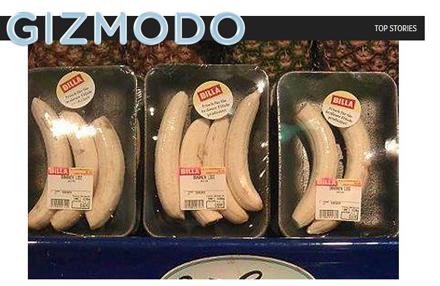 Plastik Bananen