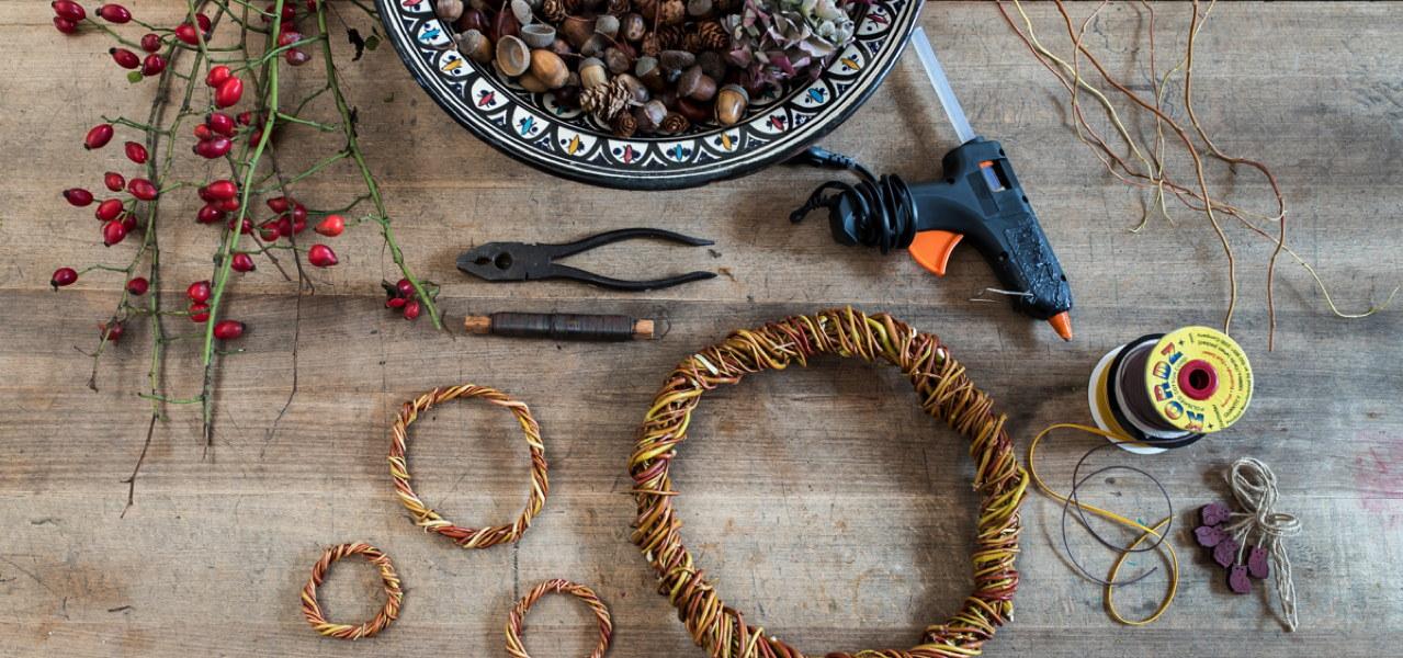 Weihnachtsdeko Selber Machen Basteln Mit Naturmaterialien