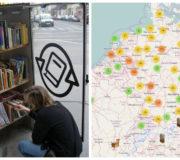 Öffentlicher Bücherschrank, Booksharing