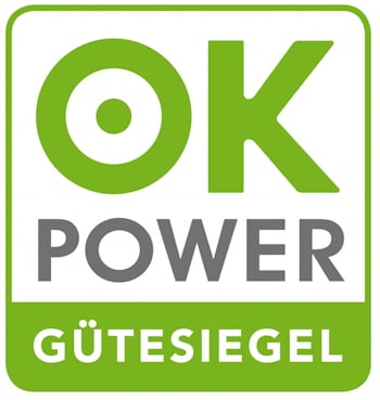 Ökostrom-Label: ok power