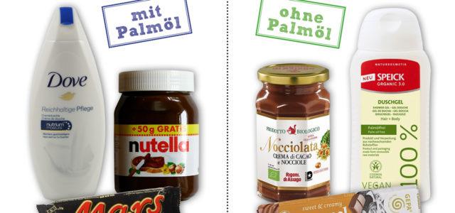 Produkte mit Palmöl und gute Alternativen