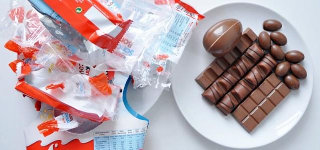 Verpackungsmüll bei Weihnachtsschokolade