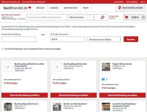 Buchhandel.de will lokale Händler und Onlineshopper einander näher bringen