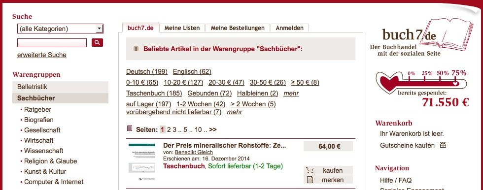 Bücher online kaufen: Buch7.de
