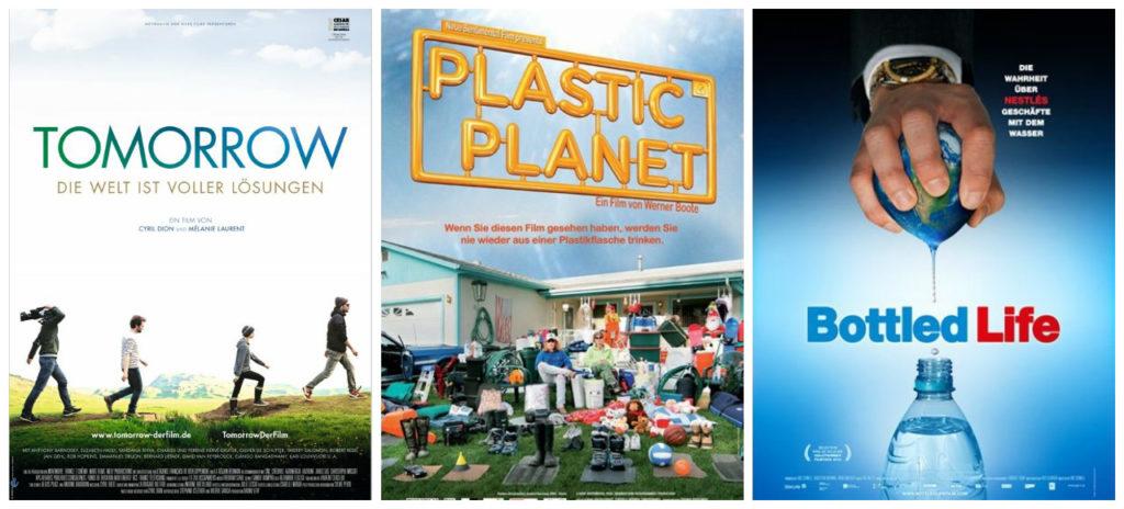 Diese Dokus sollte man gesehen haben, Tomorrow Plastic Planet, Bottled Life Filmplakat