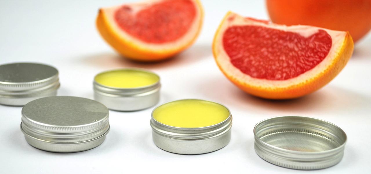 grapefruit lippenbalsam selber machen. Black Bedroom Furniture Sets. Home Design Ideas